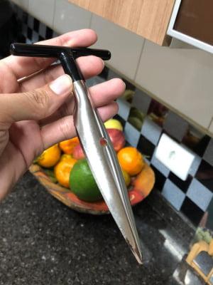 Furador Abridor de coco manual facil profissional aço inox mimostyle mimo6431